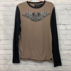 Harley-Davison Long Sleeve T-shirt. Size M